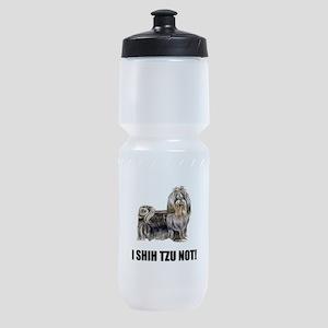 Shih Tzu Not Sports Bottle
