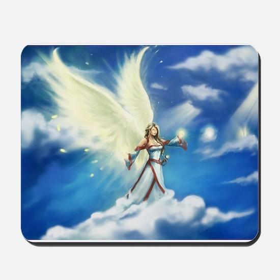 Angel skies Mousepad