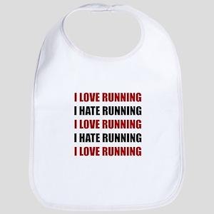 Love Hate Running Bib