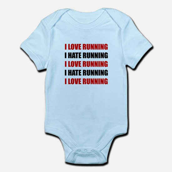 Love Hate Running Body Suit