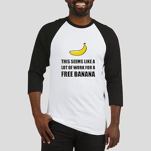 Free Banana Baseball Jersey