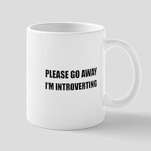 Go Away Introverting Mugs