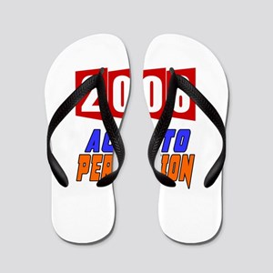 2008 Aged To Perfection Flip Flops