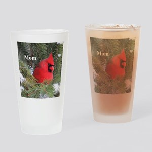 Spruce Cardinal Drinking Glass