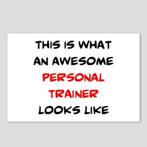 awesome personal trainer Postcards (Package of 8)
