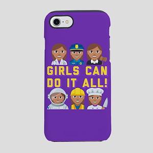 Emoji Girls Can Do it All iPhone 8/7 Tough Case