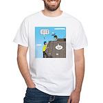 Building Confidence White T-Shirt
