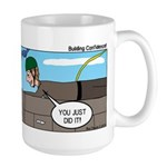 Building Confidence Large Mug