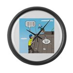 Building Confidence Large Wall Clock