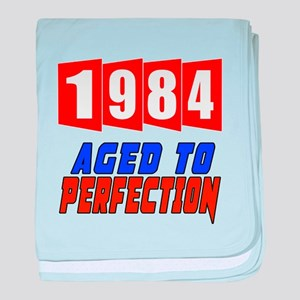 1984 Aged To Perfection baby blanket