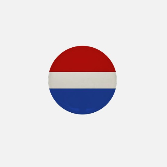 """Netherlands Flag"" Mini Button"