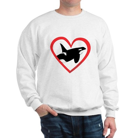 Orca Heart Sweatshirt