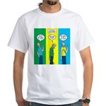 Flu Shot White T-Shirt
