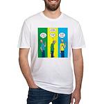 Flu Shot Fitted T-Shirt