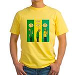 Flu Shot Yellow T-Shirt