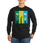 Flu Shot Long Sleeve Dark T-Shirt