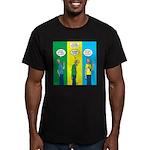 Flu Shot Men's Fitted T-Shirt (dark)