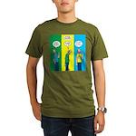 Flu Shot Organic Men's T-Shirt (dark)