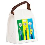 Flu Shot Canvas Lunch Bag