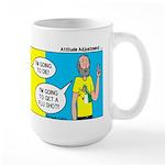 Flu Shot Large Mug