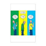 Flu Shot Mini Poster Print