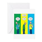 Flu Shot Greeting Cards (Pk of 10)