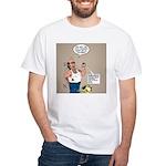 Cologne Violation White T-Shirt