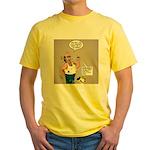 Cologne Violation Yellow T-Shirt