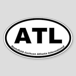 Hartsfield-Jackson International Oval Sticker