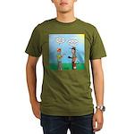 Sun Screen Issue Organic Men's T-Shirt (dark)
