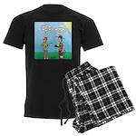 Sun Screen Issue Men's Dark Pajamas