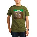 Bond of the Apes Organic Men's T-Shirt (dark)