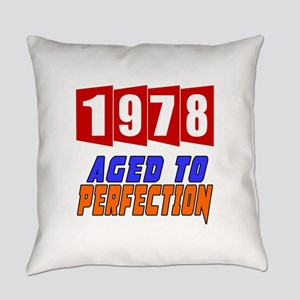 1978 Aged To Perfection Everyday Pillow