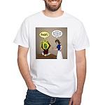 Zombie Homework White T-Shirt