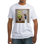 Zombie Homework Fitted T-Shirt