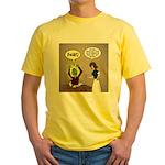 Zombie Homework Yellow T-Shirt