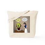 Zombie Homework Tote Bag