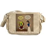 Zombie Homework Messenger Bag