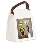 Zombie Homework Canvas Lunch Bag