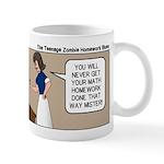 Zombie Homework Mug