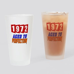 1972 Aged To Perfection Drinking Glass