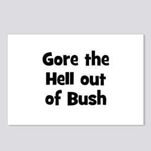 Gore the Hell out of Bush  Postcards (Package of 8