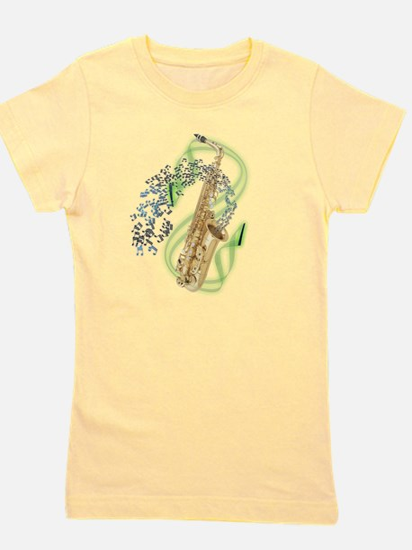 Unique Baritone horn Girl's Tee