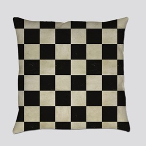 Cartoon Racecars Everyday Pillow