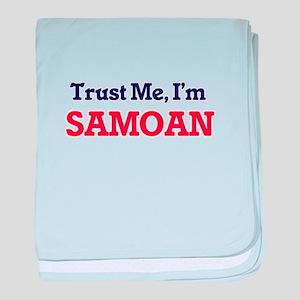 Trust Me, I'm Samoan baby blanket