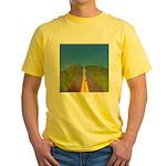 34. highway2heaven..? Yellow T-Shirt
