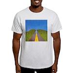 34. highway2heaven..? Ash Grey T-Shirt