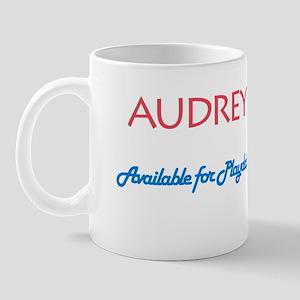 Audrey - Available For Playda Mug