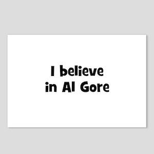I believe in Al Gore Postcards (Package of 8)