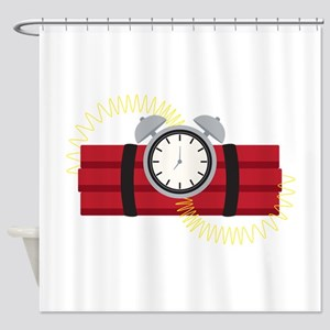 Dynamite Shower Curtain